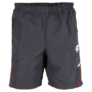 LOTTO MENS LED TENNIS SHORT SILVER