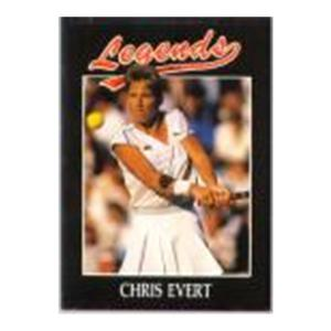 TENNIS EXPRESS Chris Evert Silver Foil Legends Card