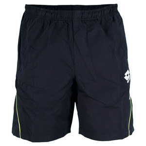 LOTTO MENS LED TENNIS SHORT NAVY
