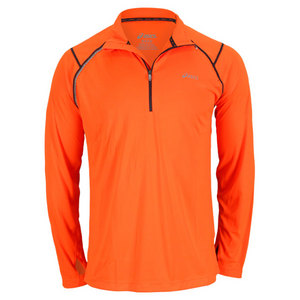 ASICS MENS FAVORITE 1/2 ZIP PERFORMANCE JACKET