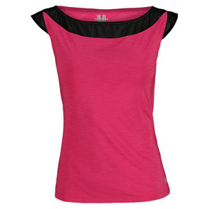 ELEVEN WOMENS POACHING TENNIS TOP PINK