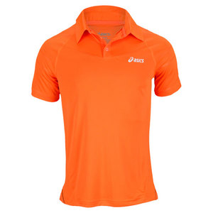 ASICS MENS RESOLUTION TENNIS POLO
