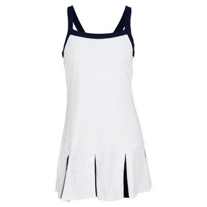 POLO RALPH LAUREN WOMENS LIZZIE TENNIS DRESS WHITE