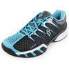 K-SWISS Women`s Bigshot II Tennis Shoes Black and Blue