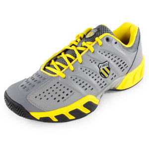 K-SWISS MENS BIGSHOT LIGHT SHOES STINGRAY/YELLOW