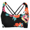 Women`s Perfect Set Tennis Bra Rose and Black by ELEVEN