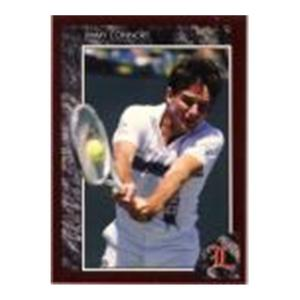 TENNIS EXPRESS Jimmy Connors Red Foil Legends Card