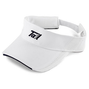 TAIL WOMENS TENNIS VISOR WHITE AND NAVY