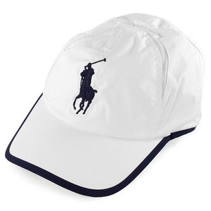 POLO RALPH LAUREN MENS PERFORMANCE STRETCH CC HAT WHITE