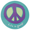 LIFE IS GOOD Elemental Peace 4 Inch Sticker