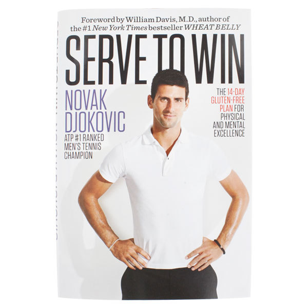 Serve To Win Hardcover Book