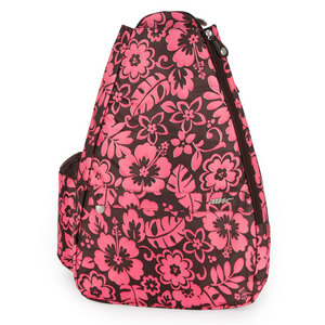 LIFE IS TENNIS PINK HIBISCUS SMALL SLING CLASSIC CONVER
