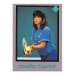 TENNIS EXPRESS Jennifer Capriati Tuff Stuff Junior Card