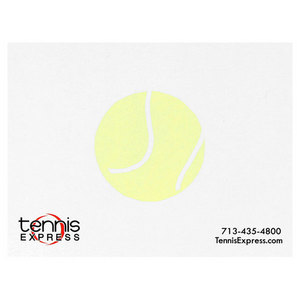 TENNIS EXPRESS 25 SHEET NOTEPAD