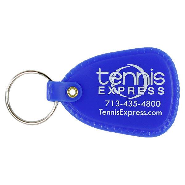 Blue Tennis Express Keychain