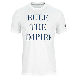 NIKE MENS RULE THE EMPIRE TENNIS TEE