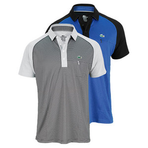LACOSTE MENS SHORT SLEEVE ULTRA DRY TENNIS POLO