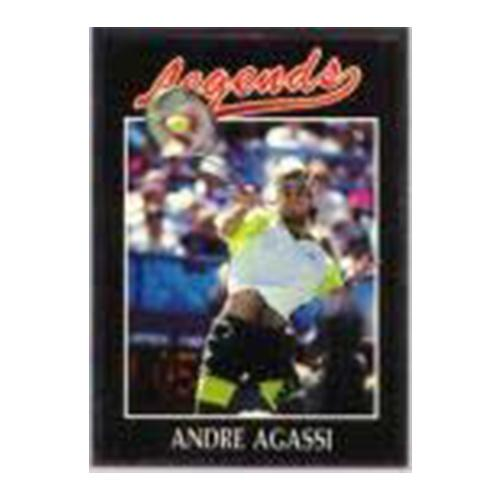 Andre Agassi Silver Foil Legends Card