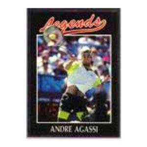 NETPRO Andre Agassi Silver Foil Legends Card