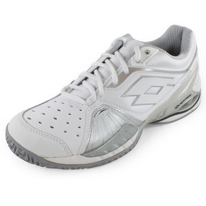LOTTO WOMENS RAPTOR ULTRA IV SHOES WH/SILVER