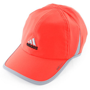 adidas MENS ADIZERO II TENNIS CAP HI-RES RED