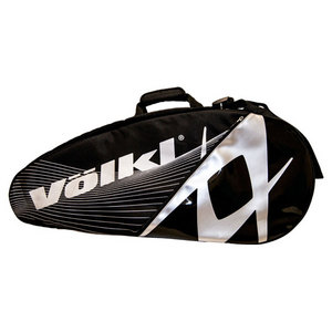 VOLKL TOUR COMBI TENNIS BAG BLACK/SILVER
