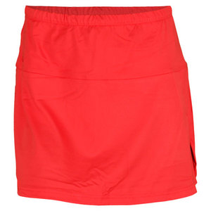 BOLLE WOMENS STAR BURST TENNIS SKORT CORAL