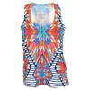 Women`s Aztec Jersey Tennis Tank by LUCKY IN LOVE