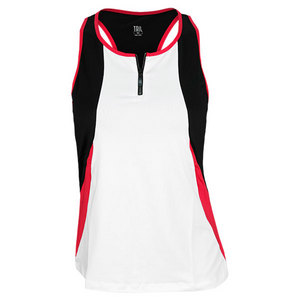 TAIL WOMENS LADY LIKE ARLIE RACERBACK WHITE