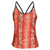 Women`s Carol Tennis Tank Orange by VICKIE BROWN