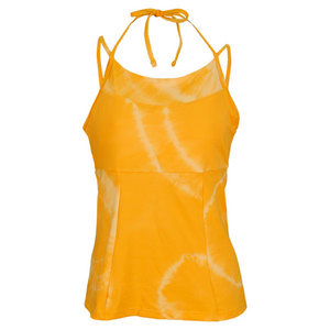 VICKIE BROWN WOMENS WENDY TENNIS TANK ORANGE