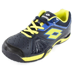 LOTTO JUNIORS RAPTOR ULTRA IV SHOES GRAPH BLUE