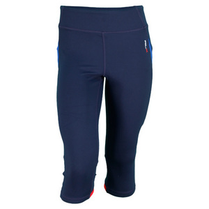 POLO RALPH LAUREN WOMENS CROPPED LEGGING TENNIS PANT BLUE