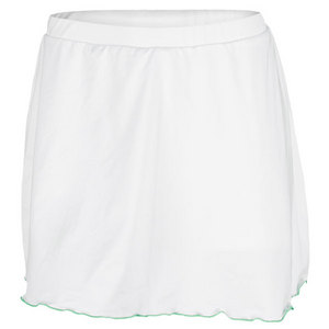 PRINCE WOMENS TENNIS SKORT WHITE