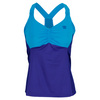 WILSON Women`s Get It Strappy Tennis Tank Ink and Cyan