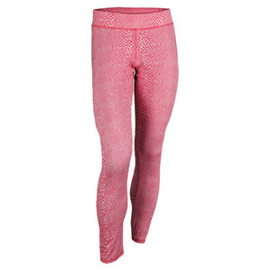 ELEVEN WOMENS UNDER SPIN TENNIS LEGGINGS PINK