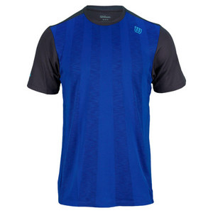 WILSON MENS HITTING ACES CREW COBALT/COAL