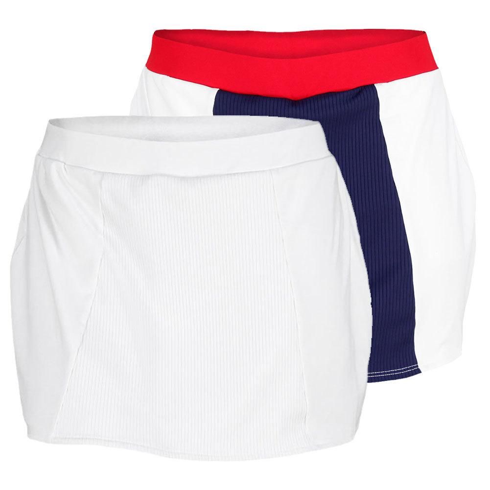 Women's Rib Front Jersey Tennis Skirt