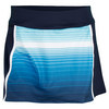 Women`s Heritage Printed Tennis Skort Navy by FILA