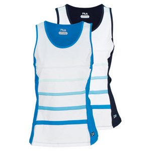 FILA WOMENS HERITAGE FULL COVERAGE TANK