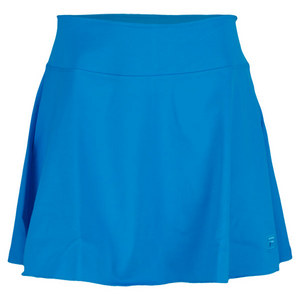 FILA WOMENS ESSENZA LONG FLIRTY SKORT BLUE