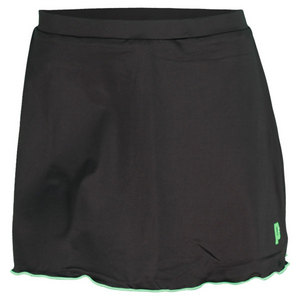 PRINCE WOMENS TENNIS SKORT BLACK