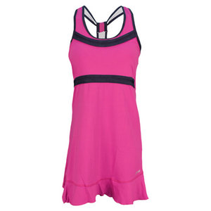 SOFIBELLA WOMENS HOOK TENNIS TANK DRESS ORCHID