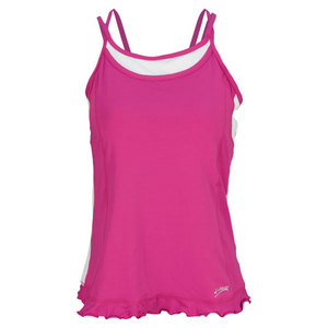 SOFIBELLA WOMENS HOOK ATHLETIC CAMI TOP ORCHID