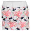 LIJA Women`s Printed Tennis Skort White