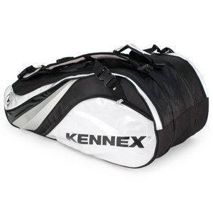 PRO KENNEX Q SERIES 12 PACK TENNIS BAG SILVER/BLACK