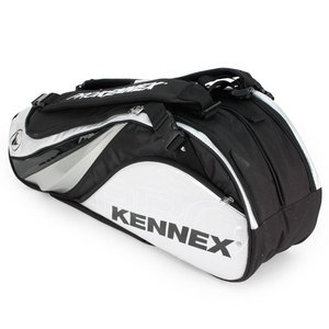PRO KENNEX Q SERIES 6 PACK TENNIS BAG SILVER/BLACK
