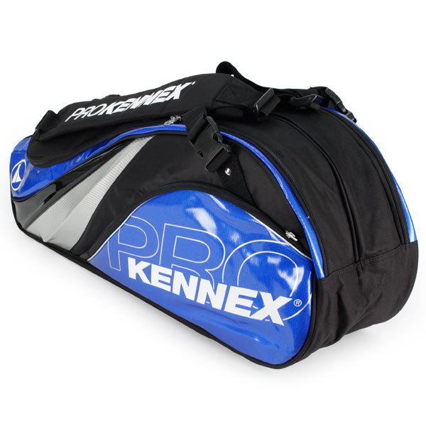 Q Series 6 Pack Tennis Bag Blue And Black