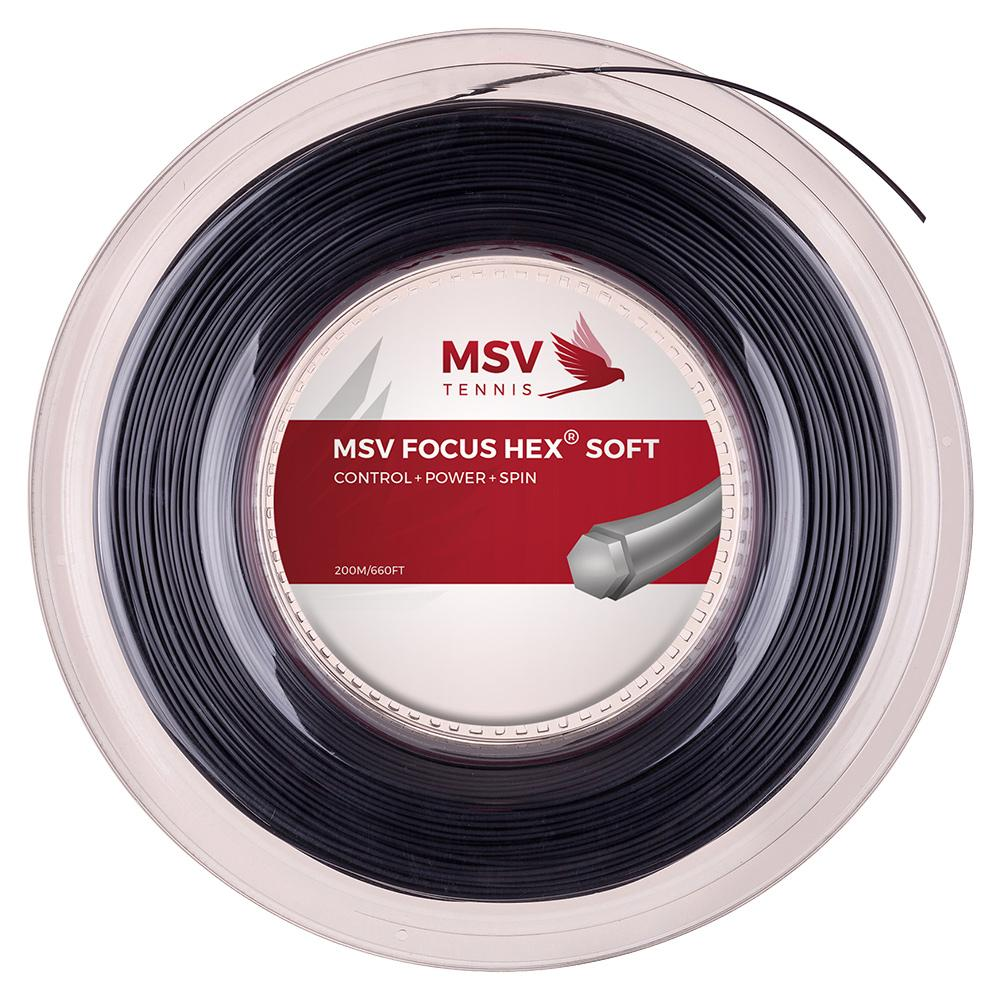 Focus Hex Soft 120 Tennis Reel String Black