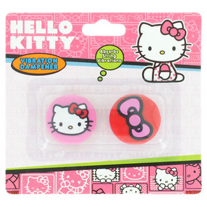 HELLO KITTY TENNIS VIBRATION DAMPENER FACE/BOW